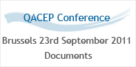 Qacep Conference Documents